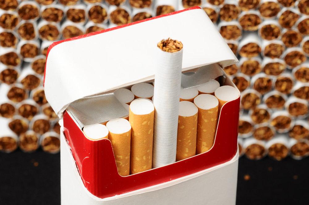 В России перестанут продавать сигареты