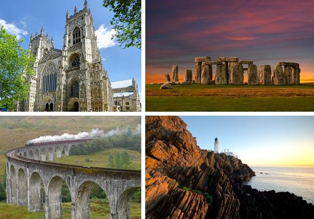 Интересные места Великобритании