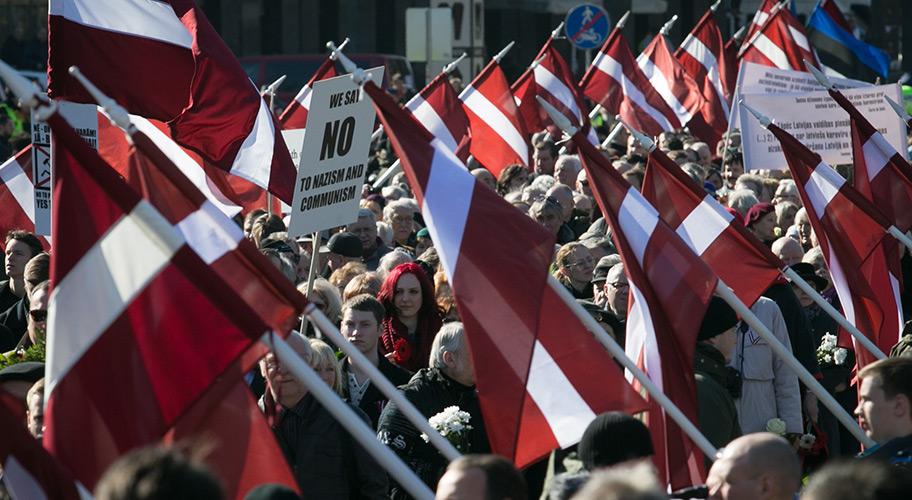 Европа разглядела  в Прибалтике нацистов