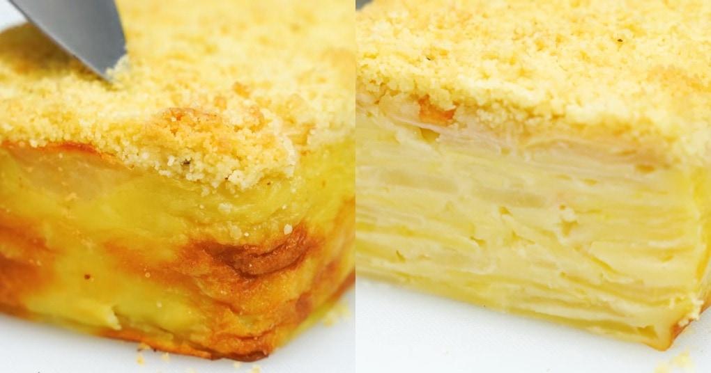 Тесто этого пирога при выпечке превращается в нежнейший крем. А готовится он очень просто