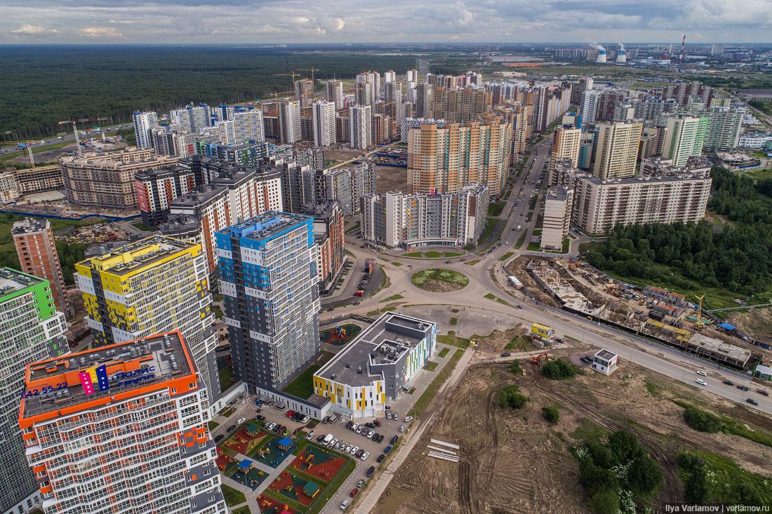 В Минстрое предложили уплотнять застройку городов для выполнения указа Путина