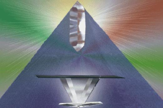 Как сделать свою пирамиду света и силы