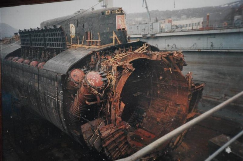 гибель подводной лодки курск фото