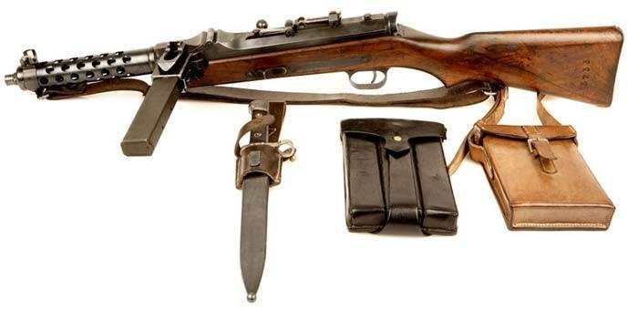 Steyr-Solothurn S1-100. Пистолет-пулемёт, опередивший своё время