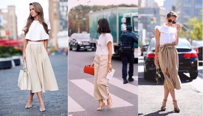Шикарный нюдовый: 8 модных образов для любительниц минимализма