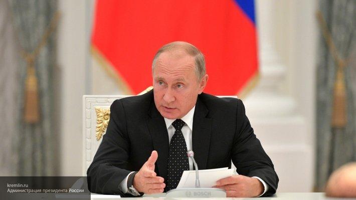 Путин назвал бескомпромиссную борьбу с международным терроризмом в числе безусловных приоритетов России