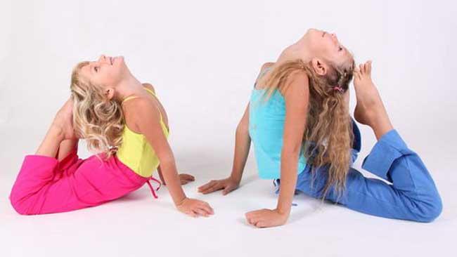 Йога для детей приобретает популярность