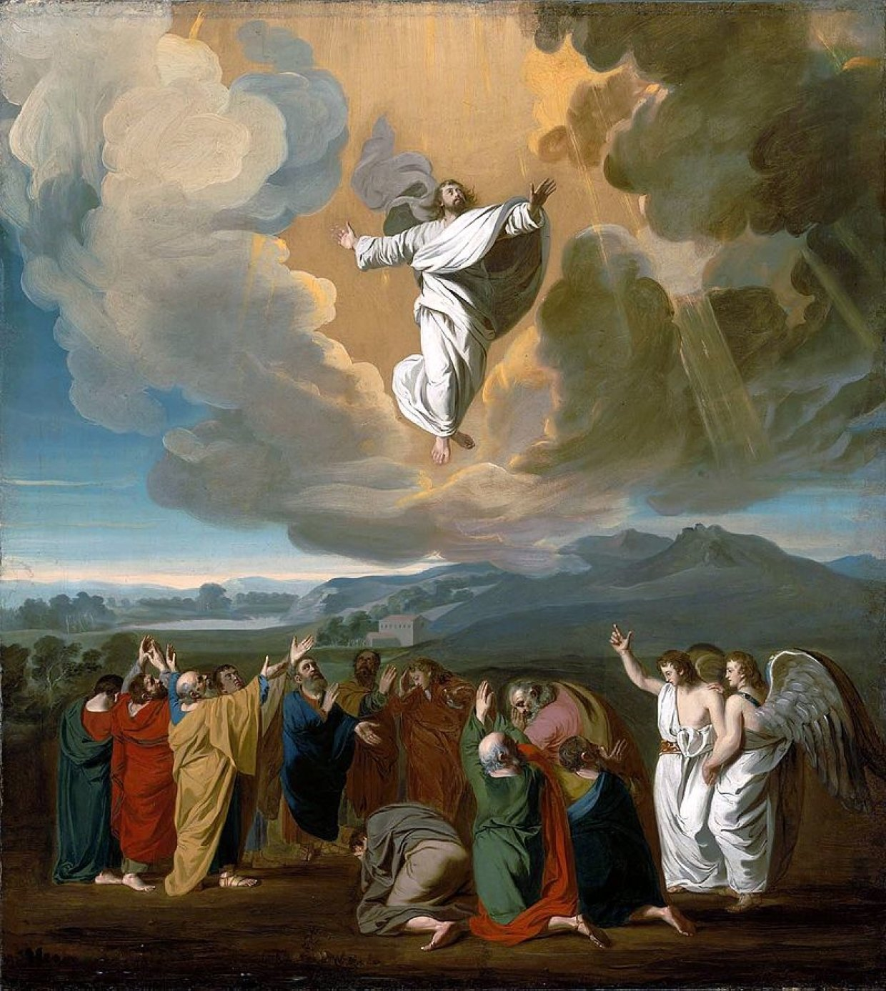 Праздник Вознесение Господне связан с евангельской историей о вознесении на небо воскресшего Иисуса Христа