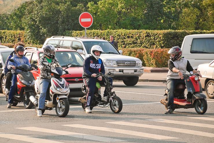 Скутер на дороге: в чем опасность? - Фото 2