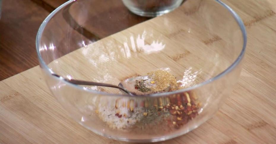 Стейк блейд в луизианском соусе