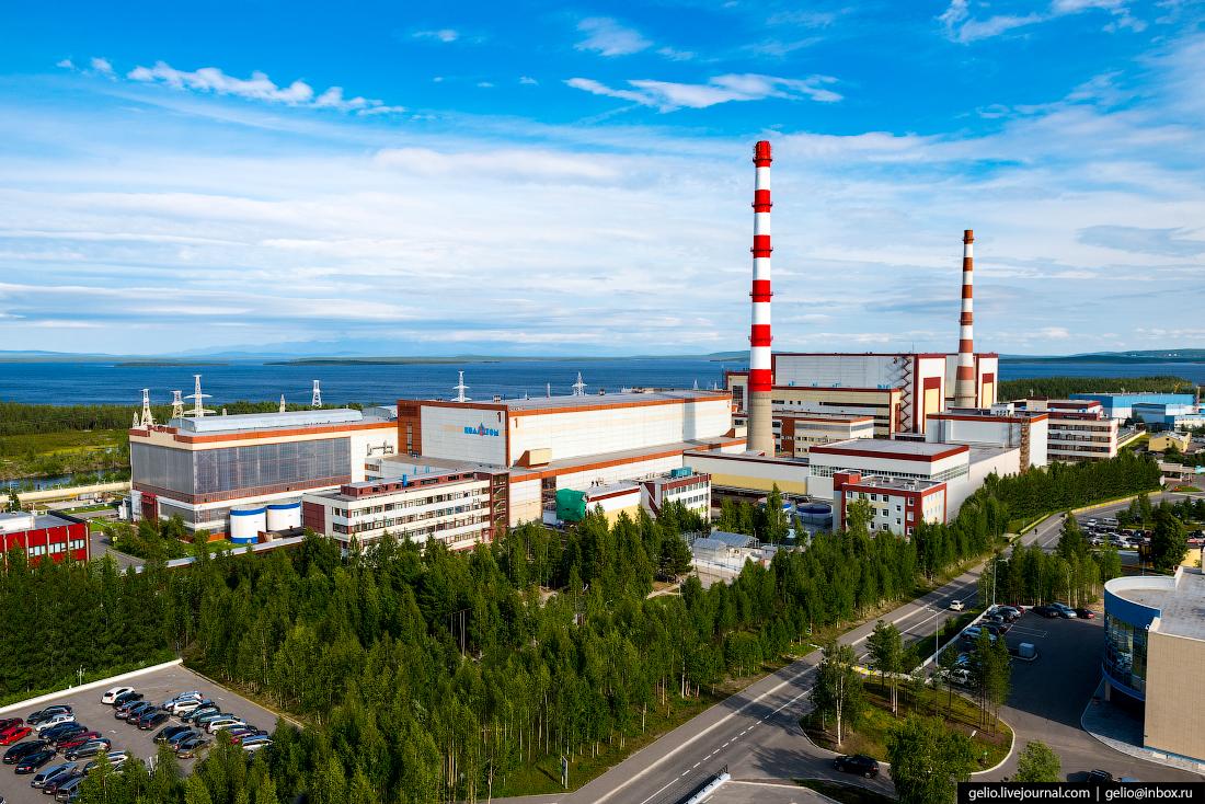 Кольская АЭС — самая северная АЭС Европы