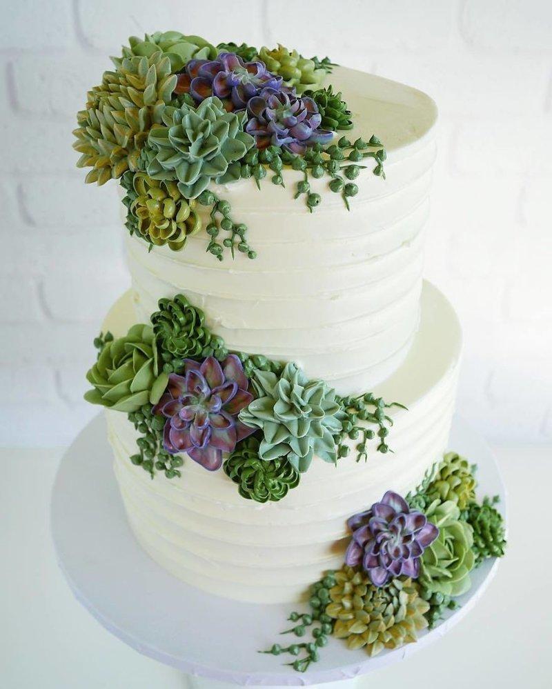 Эти торты уместнее на клумбе, чем на столе! выпечка, кондитер, красота, растения, супердизайн, торты, цветочные мотивы, цветы