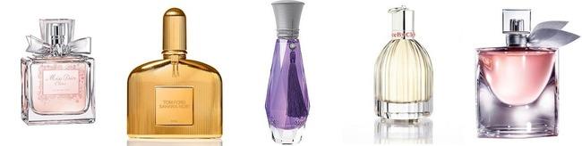 Новые женские ароматы
