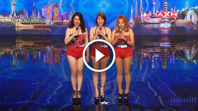 На сцену шоу талантов вышли три миловидные дамочки. Но когда они запели жюри были ошеломлены!