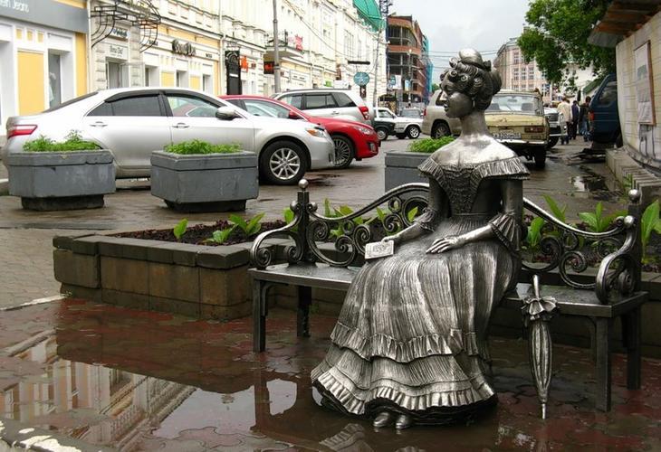 Статуя на Люблинском проспекте