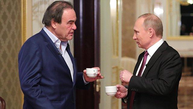 Президент РФ рассказал Оливеру Стоуну об американо-российских отношениях
