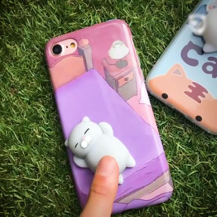 Cutest Stress Relief Phone Cases