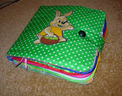 Как сшить мягкую книжку-игрушку : мастер-класс