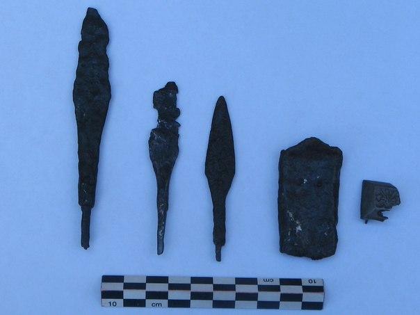 Археологи нашли предметы вооружения и украшения на Куликовом поле