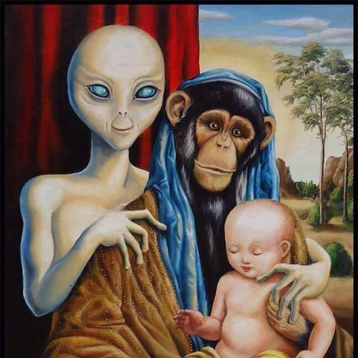 Потомки инопланетян не переводятся и сегодня./Фото: x-vesti.ru