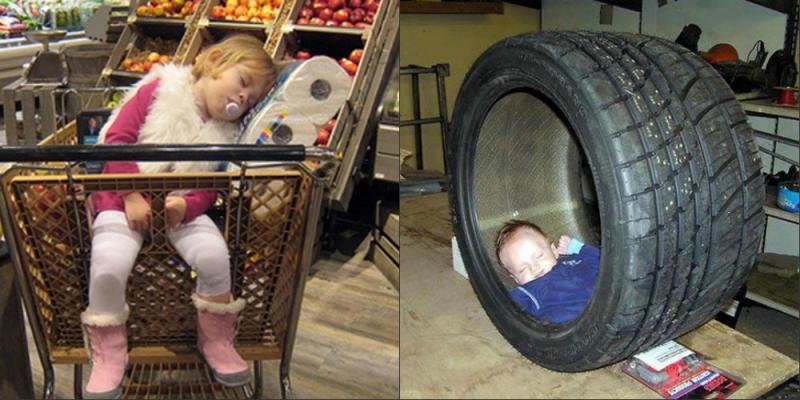 Спят усталые детишки...))) (фото)