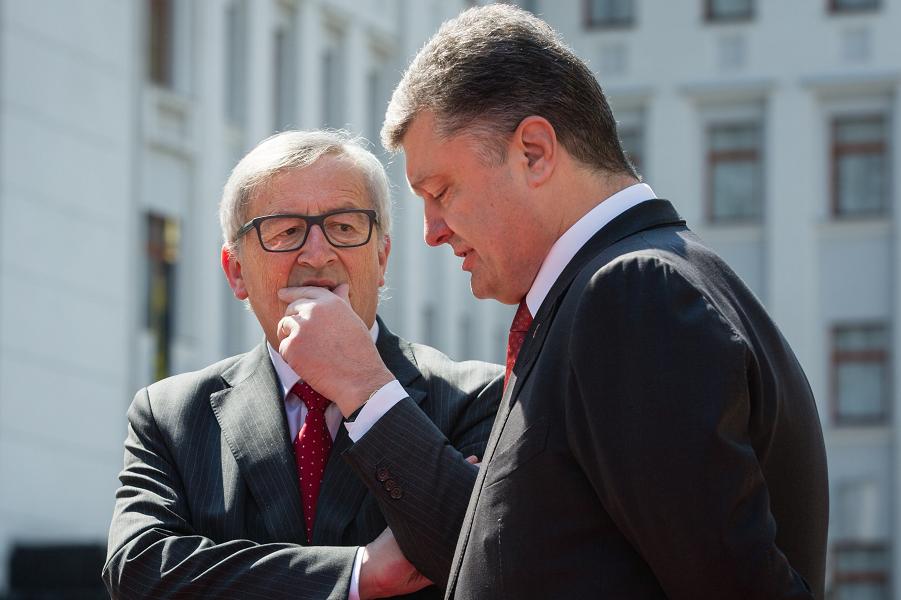 Украина не Европа. Юнкер против Порошенко