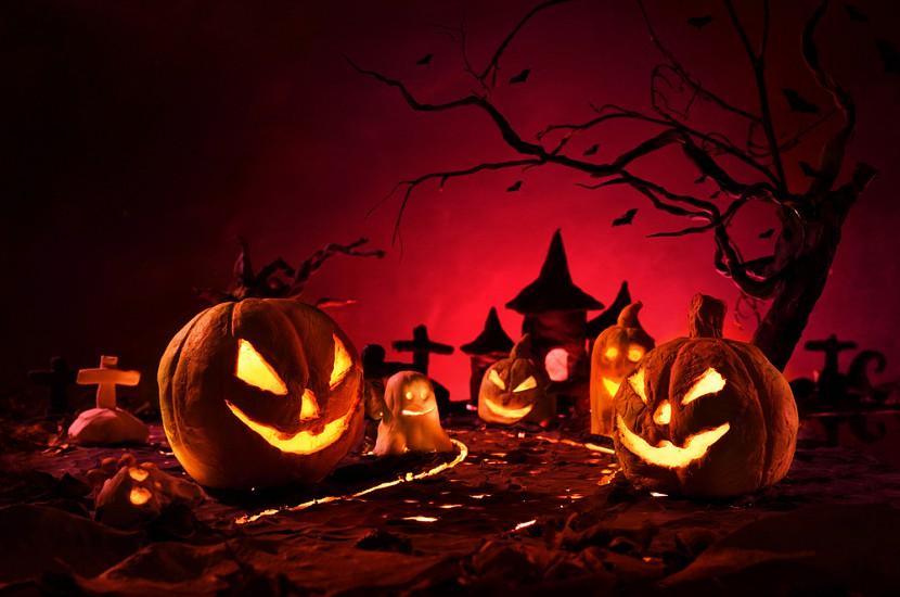 Необычный декор на Хэллоуин