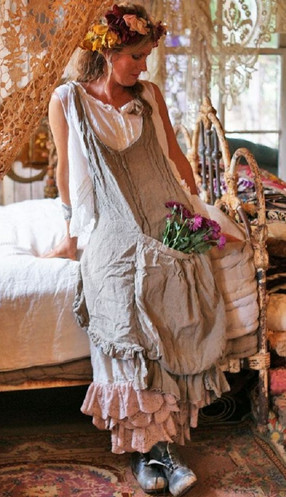 Бохо или домашняя одежда «французской кухарки»…