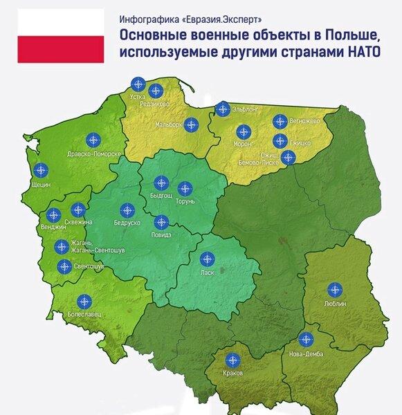 О развертывании войск США на территории Польши