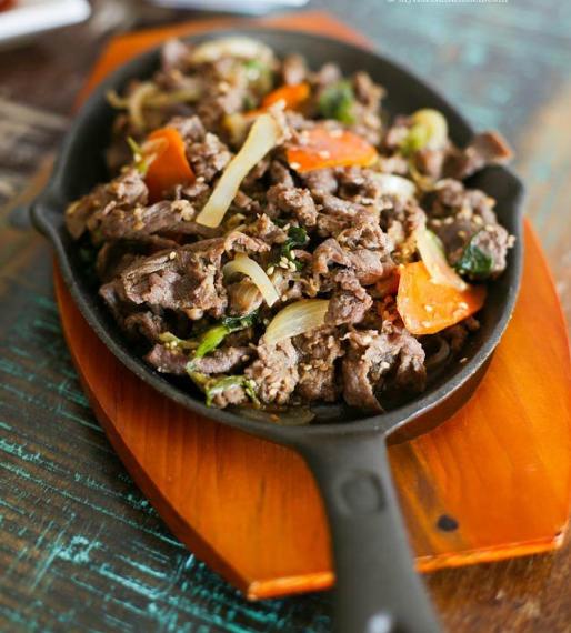 Булгаги - корейская маринованная говядина. Очень простой и очень вкусный рецепт!