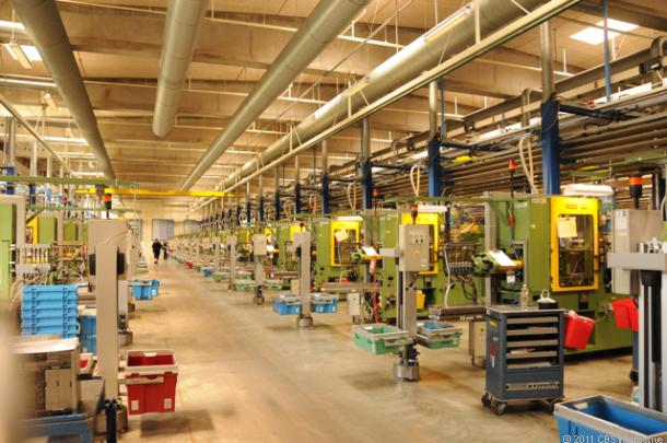 Экскурсия на производство конструкторов