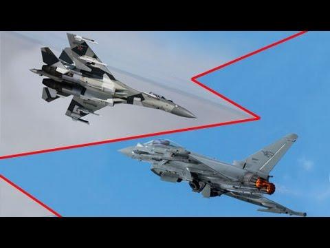 Су-35 против Eurofighter Typhoon: дуэль на виражах