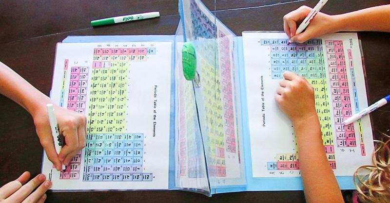 Занимательный способ, как выучить таблицу Менделеева