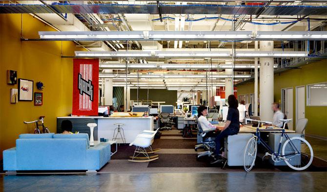 Экскурсия по главному офису компании Facebook