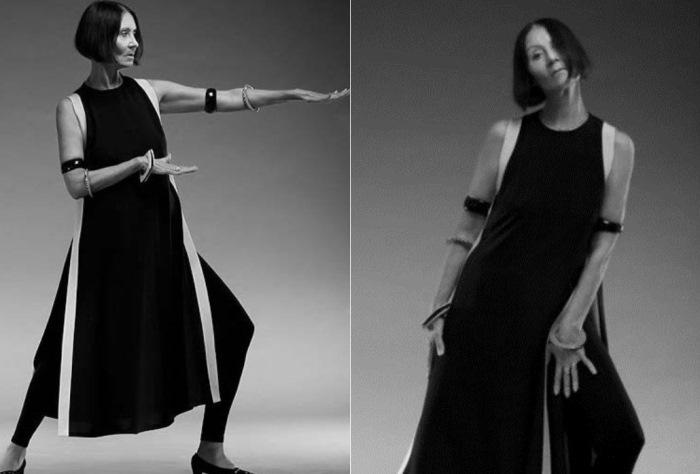 Лека Миронова и в зрелом возрасте работала моделью   Фото: fashiony.ru