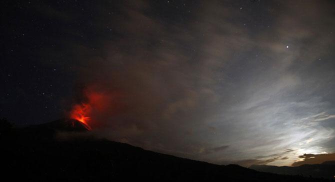 Вулканическая активность в 2011 году