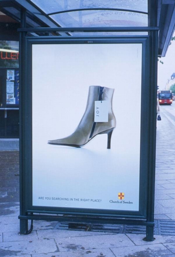 JOY, The Church Of Sweden, Paradiset DDB, Печатная реклама