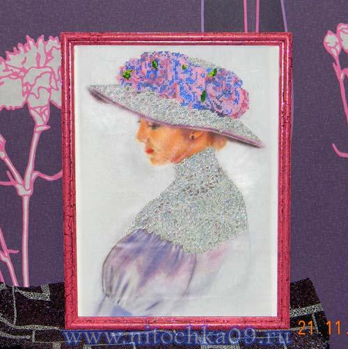 Виолет. Вышивка бисером