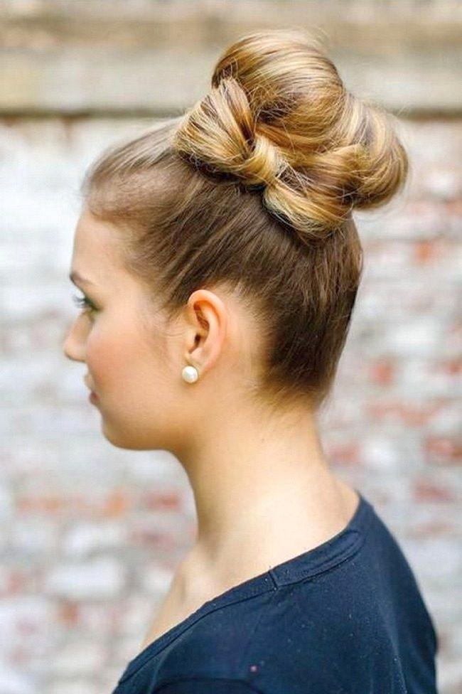 Причёски с бантом