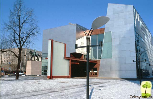 Музей современного искусства Киасма в Хельсинки, Финляндия - 9