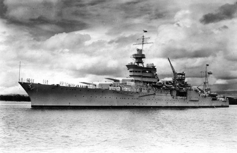 Обнаружен крейсер «Индианаполис», 72 года пролежавший на морском дне