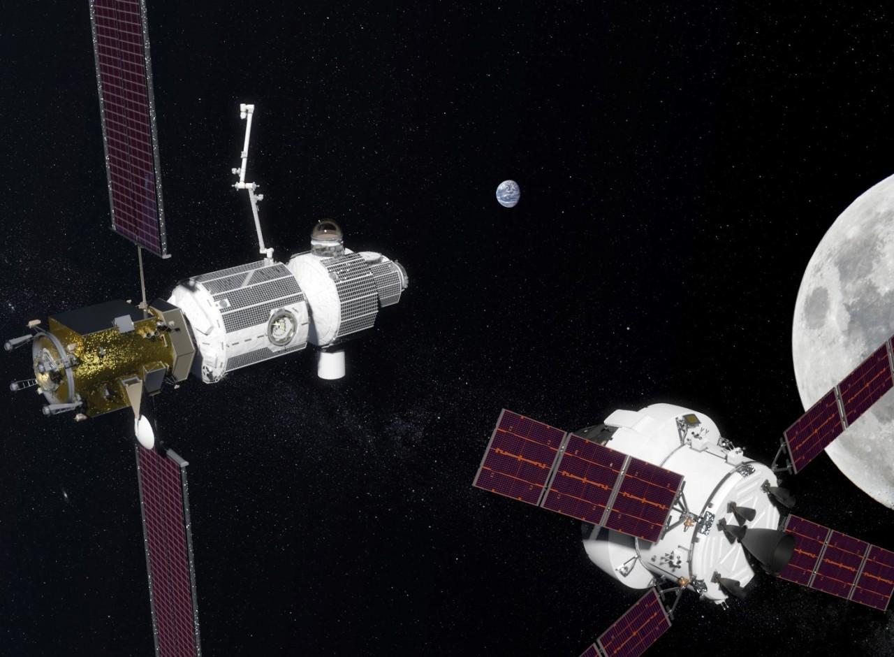 NASA построит лунную станцию…