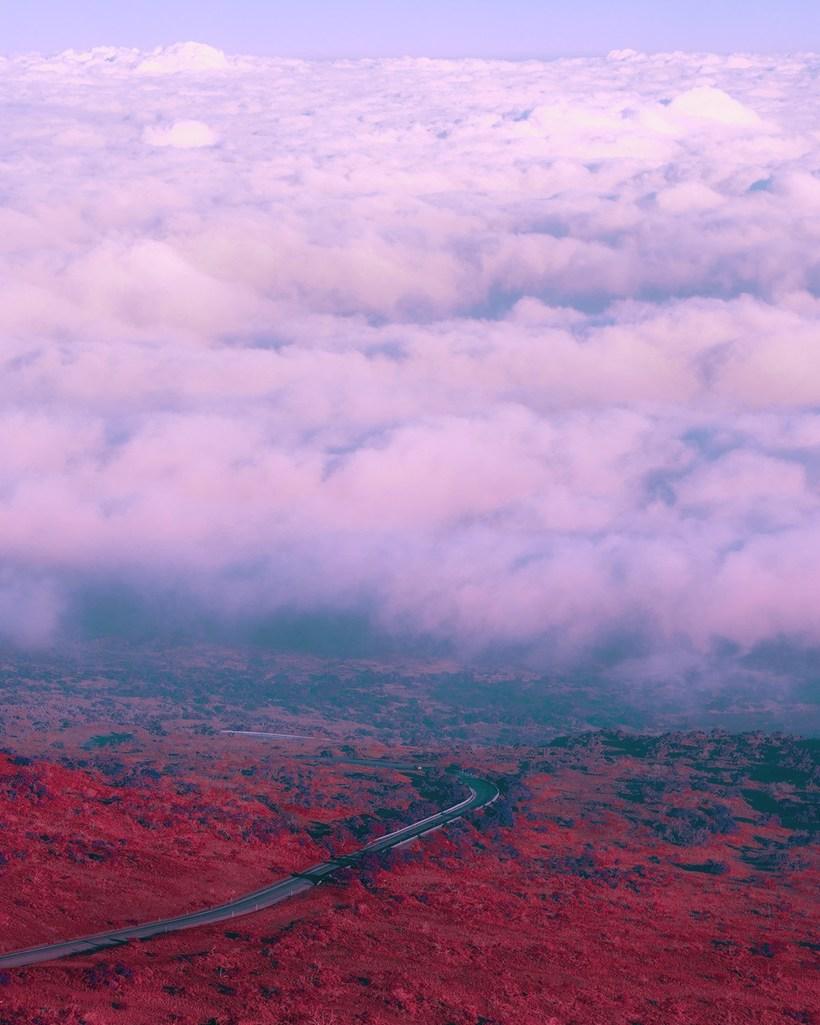 Инопланетные пейзажи Гавайев: фотограф превратила острова в фантастическое место