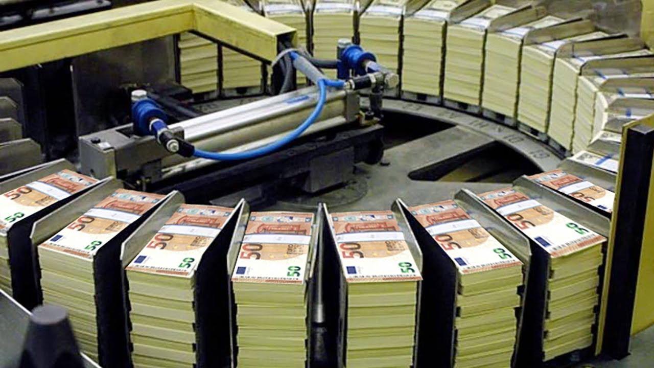 Как печататют евро