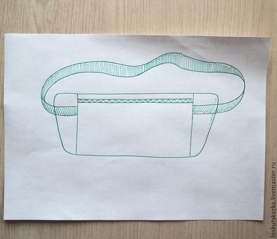 Шьем потайную сумку путешественника «Для денег»