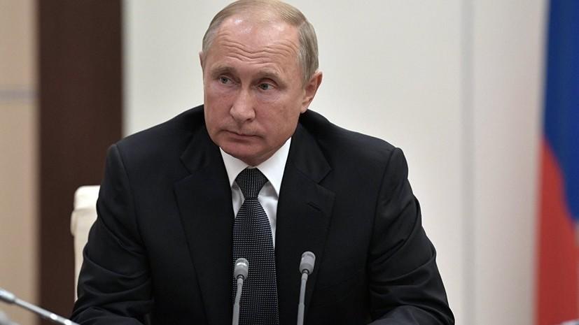 Песков: Путин хочет вывести …