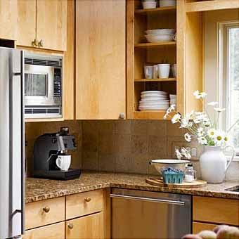 Маленькая кухня: 12 идей практичного дизайна.