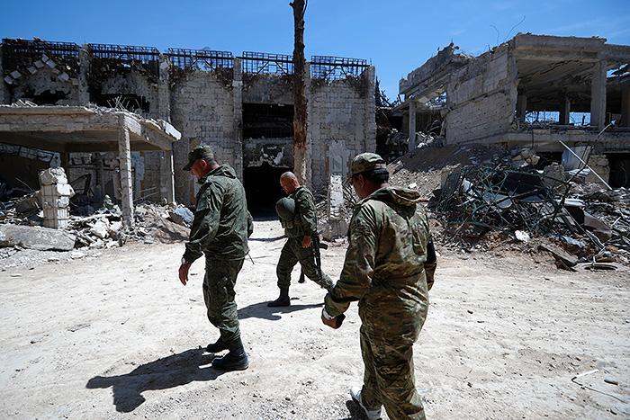 Российские военные погибли в Сирии