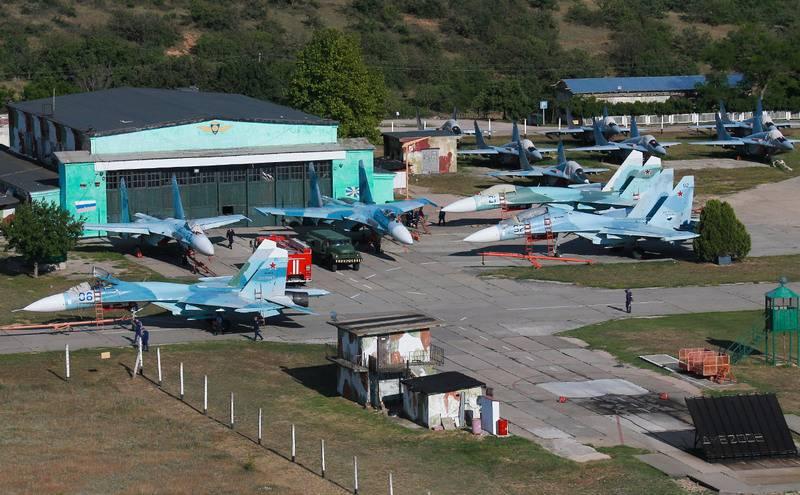 Минобороны заканчивает модернизацию аэродрома Бальбек в Крыму