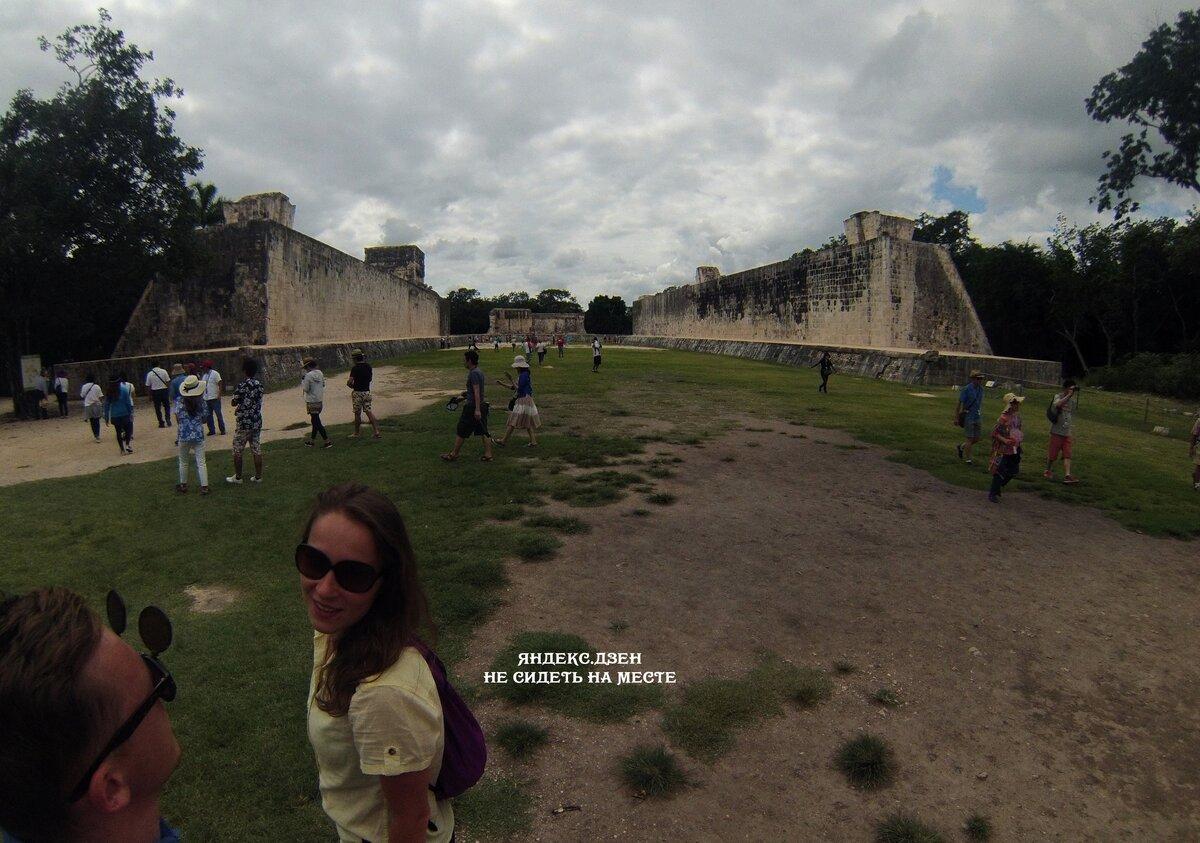 Поле для мезоамериканской игры в мяч
